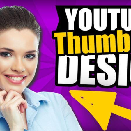 Design youtube thumbnails