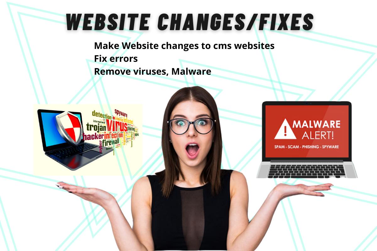 websites fixes