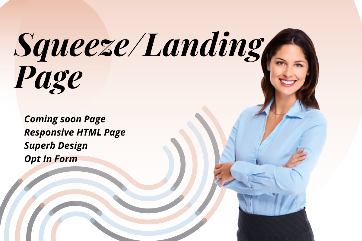 landing page and websites